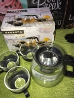 Used Tea set + Coffee Stirrer in Dubai, UAE