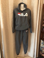 Used Hoody and pants size L grey in Dubai, UAE