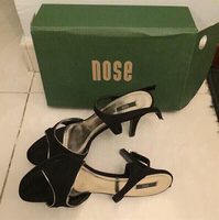 Beautiful #Black#Heels from #Nose.