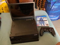 Used PS4 500GB with Hori portable screen in Dubai, UAE