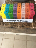 One month pill organiser