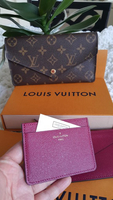 Used Jeanne Louis Vuitton wallet authentic in Dubai, UAE