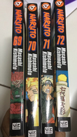 Used 4 volumes of naruto's manga in Dubai, UAE