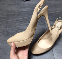 Used Leather Vince Camuto shoes - new in Dubai, UAE