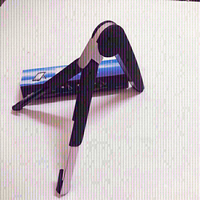 Used Portable office computer stand black  in Dubai, UAE