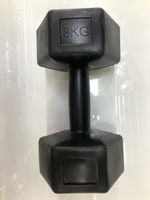 Used Dumbbells  8kg ... new✨✨ in Dubai, UAE