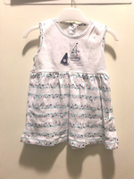 Used RED TAG Girl Dress 9 to 12 months White in Dubai, UAE