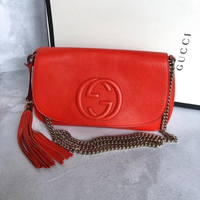 Used Gucci Soho Flap Bag Medium Authentic in Dubai, UAE