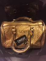 Used Brand new DKNY gold big size bag  in Dubai, UAE