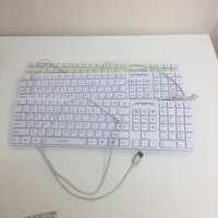 Used 3 white keyboards bundle  in Dubai, UAE