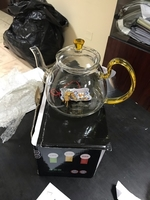 Used Glass teapot 1200ml x1 new in Dubai, UAE