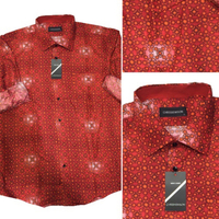 Used Red Design Shirt - Size XL in Dubai, UAE