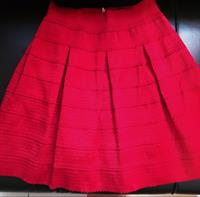 Used cute and stylish redskirt- perfect for a romantic date or night out! Worn once only! Fits M frame! Meet up: bur dubai or Diera CC  in Dubai, UAE