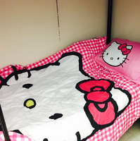Used Hello Kitty Bed Set Single Size  in Dubai, UAE