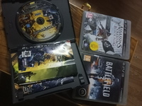 Used Ps3 stormrise+assassincreed+battlefield3 in Dubai, UAE