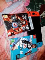 Used Nintendo switch with fifa 2019 and wwe20 in Dubai, UAE