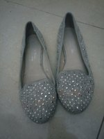 Ladies plated shoe