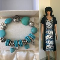 Used Bundle offer dress and bracelet in Dubai, UAE