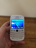 Used Blackberry curve smartphone white in Dubai, UAE