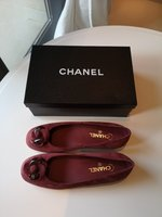 Used Authentic Chanel Shoes Sz 41 New w/ Box in Dubai, UAE