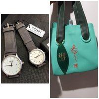 Used Super Offer☆ Tomi Couple Watches +  BAG in Dubai, UAE