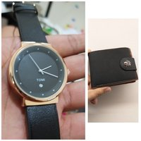 Used Original TOMI Watch> 🆓️ Leather Wallet in Dubai, UAE