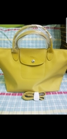 Used Longchamp Neo - yellow medium size in Dubai, UAE