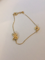 Used 18k heart butterfly bracelet  in Dubai, UAE