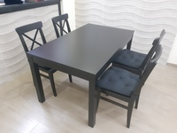Used extendable dining table with chairs in Dubai, UAE
