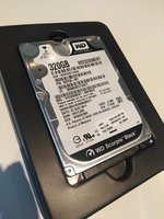 SATA 2.5 HD 320GB - WD Scorpio Black