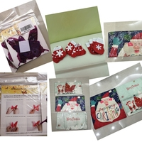 Used Bundle 3D stickers +Xmas decor+ cushions in Dubai, UAE