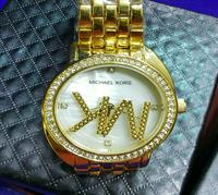 "MICHAEL KORS ""Double Glass"" DESIGNER LADIES WATCH"