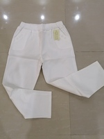 Used Pants casual white new size 5XL in Dubai, UAE