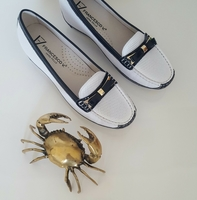 #Brandnew #Francesco V. loafers for women..very comfortable available size 37,38,39 #leather #shoes