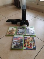 Used Xbox 360 e 500 GB with 5 games in Dubai, UAE
