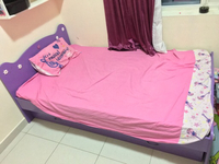 Kids single bed + extra pull out bed