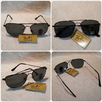AUTHENTIC BLACK RAYBAN SUNGGLASS