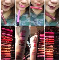 One Set Completely 11 Different Colors Of #MacLipglossVamprify