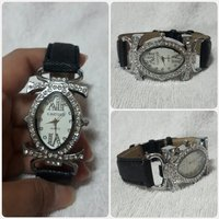 Used Amazing black CARTIER watch for lady... in Dubai, UAE