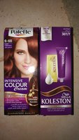 2 hair diy color palette and koleston