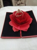Used 2 in one crown projection love ring whit in Dubai, UAE