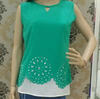 Used Brand new elegant top with sleeves inside which you can attach later in Dubai, UAE