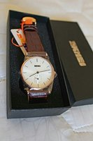 Used Genuine Leather Japan Quartz Watch▪New in Dubai, UAE