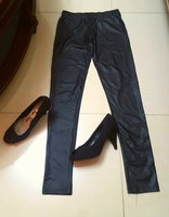 Used Faux leather leggings. New in Dubai, UAE