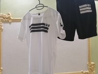 Used SPORTS MEN SET BLACK & WHITE in Dubai, UAE