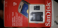 Used Sandisk sd card 128 gb 2 pic orginal in Dubai, UAE