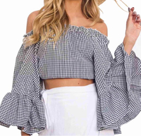 Off shoulder top s/m