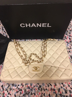 Used Chanel Lambskin Jumbo Flap  in Dubai, UAE