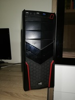 Used Custom Gaming Pc GTX 1050ti 8Gb Ram in Dubai, UAE