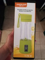 Used 2 portable rechargable juicers in Dubai, UAE